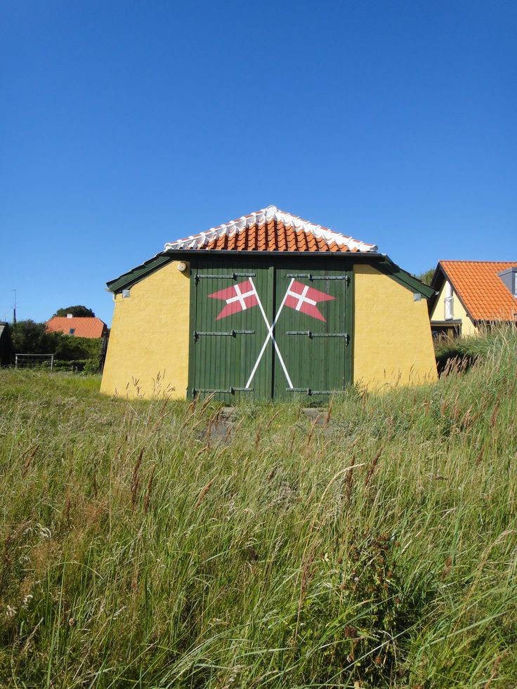 Old boat house in Skagen, Denmark