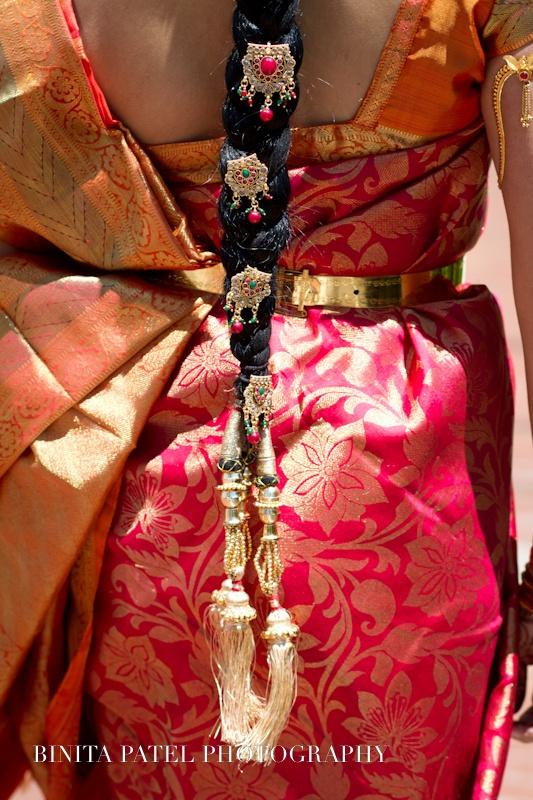 South Indian Bridal Sari