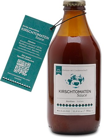 Kirschtomatensauce - www.tasteandstories.com