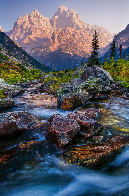 Cascade Canyon (Wyoming) by wyorev
