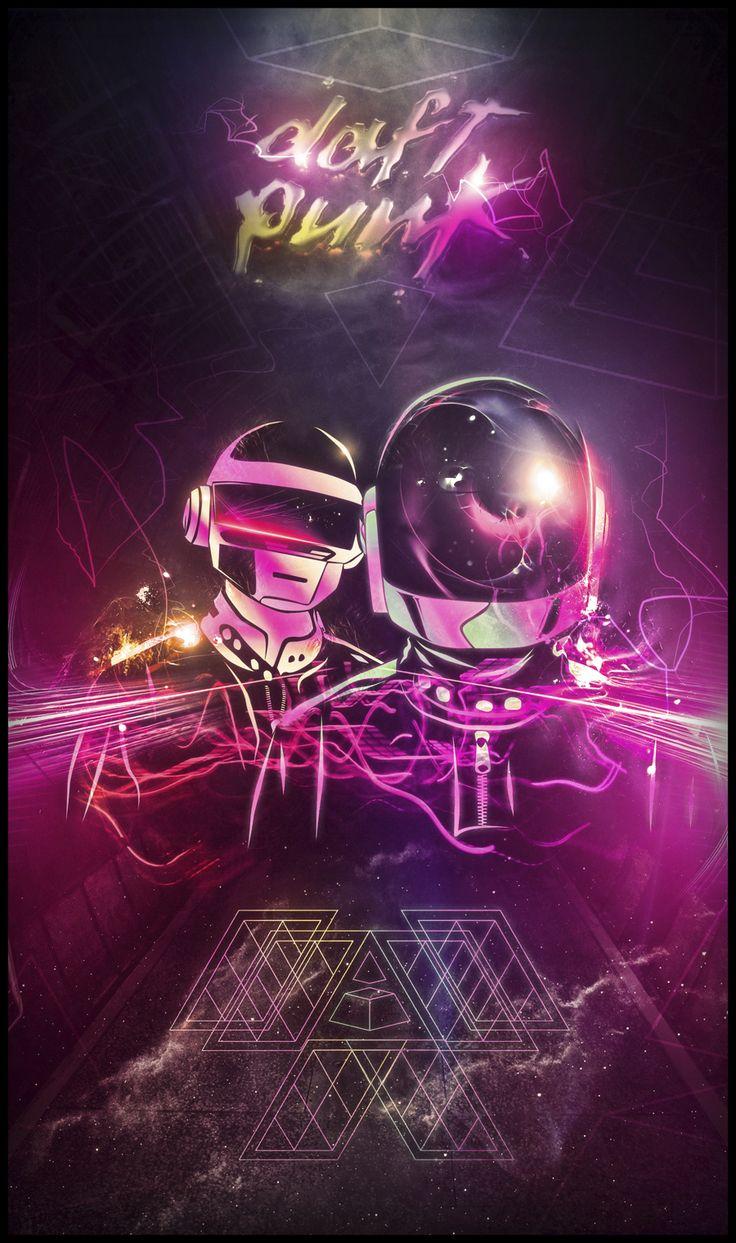 A Tribute: 40 Awesome Daft Punk Artworks Daft Punk Love by BossLogic