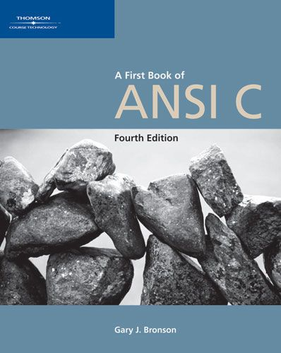 A First Book of Ansi C