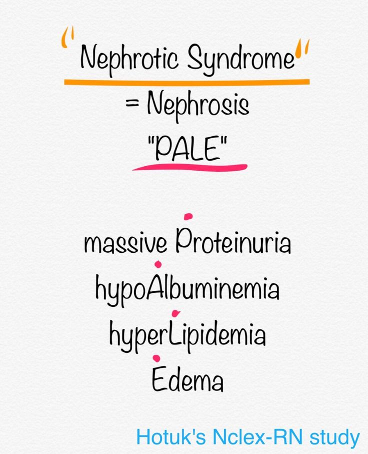 Nephrotic syndrome, Nephrosis