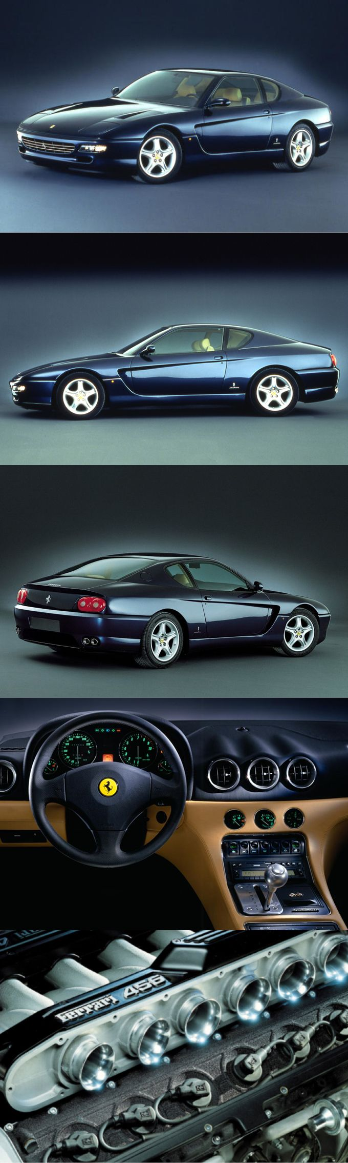 1992 Ferrari 456 GT / 436hp V12 / Lorenzo Ramaciotta @ Pininfarina / Italy / blue