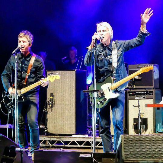 Noel and Paul Weller