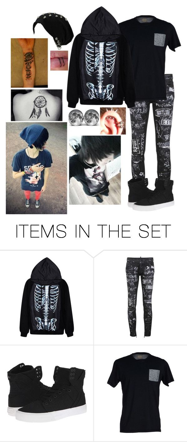 """""""I'm Ash and I'm 17.. I need a girlfriend"""" by katiex3636 ❤ liked on Polyvore featuring art"""
