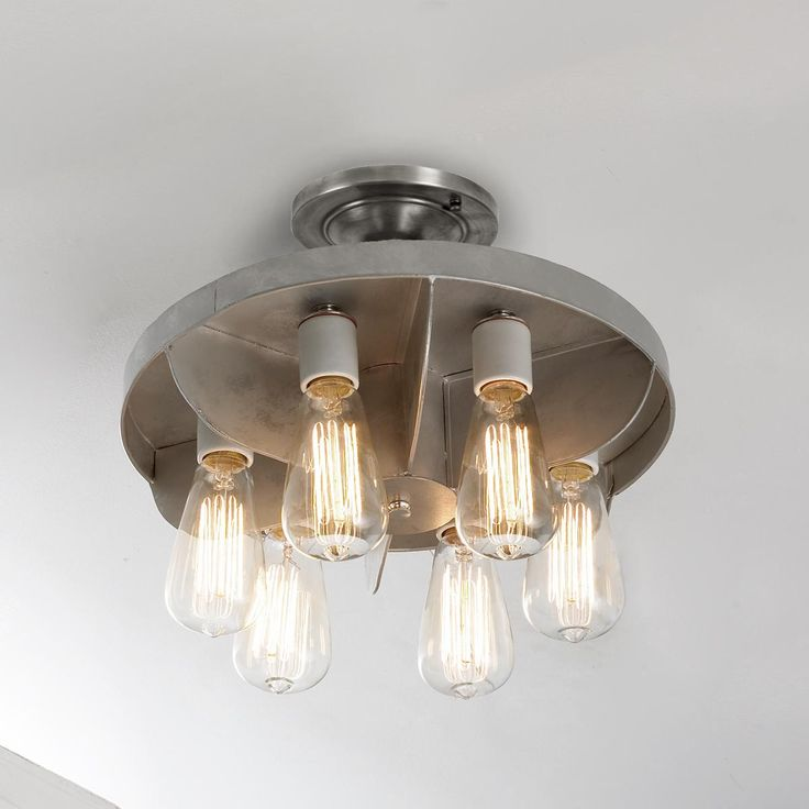 Reproduction Industrial Engine Fan Ceiling Light