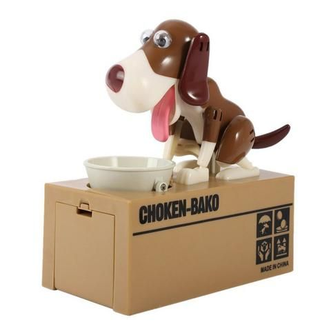 Robotic Dog Banco Canino Money Box Money Bank Automatic Stole Coin Piggy Bank Money Saving Box Moneybox Gifts for kid