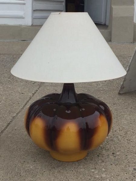 For Sale Beautiful Large RETRO lamps   Have Pair $95.00 each...Shade can be changed. Extra charge may apply.
