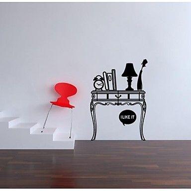 jiubai® moderna sala scrivania decalcomania della parete dell'autoadesivo della decorazione della parete - EUR € 28.17