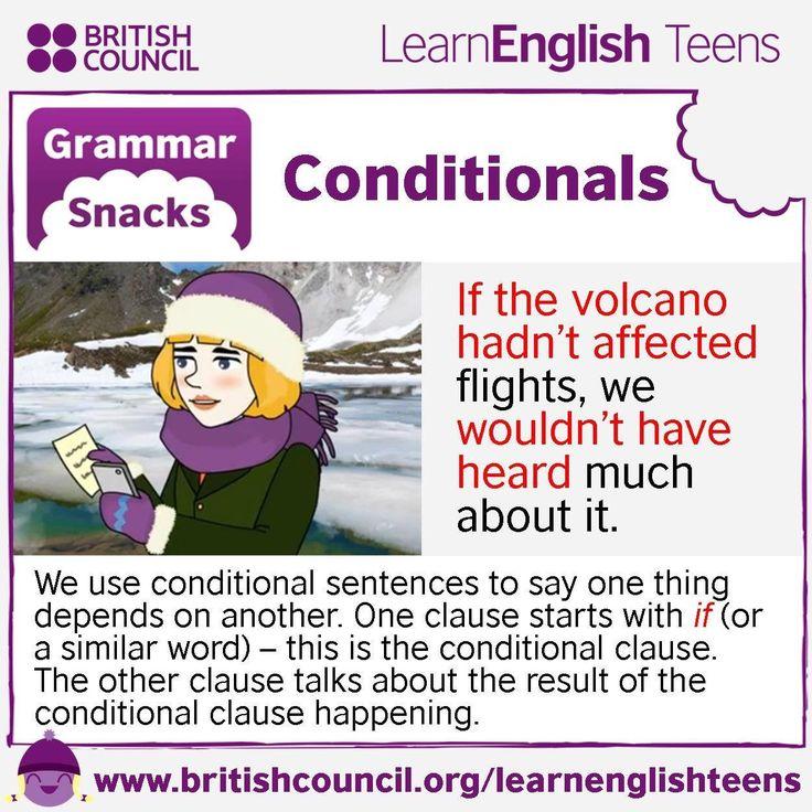 Grammar Snacks: Conditionals