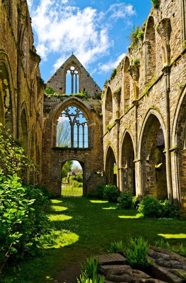 Abbey De Beauport, Paimpol, Cotes d'Armor,