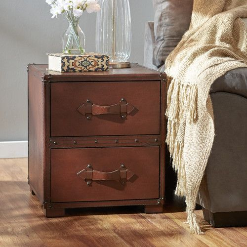 Found it at Wayfair - Jefferson 2 Drawer End Table