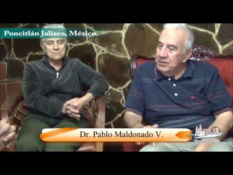 Charlando con el Dr Pablo Maldonado V. en Poncitlan