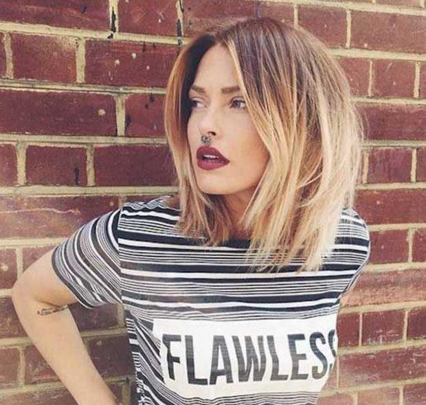 Kadınlar için 2017 Katlı Saç Modelleri
