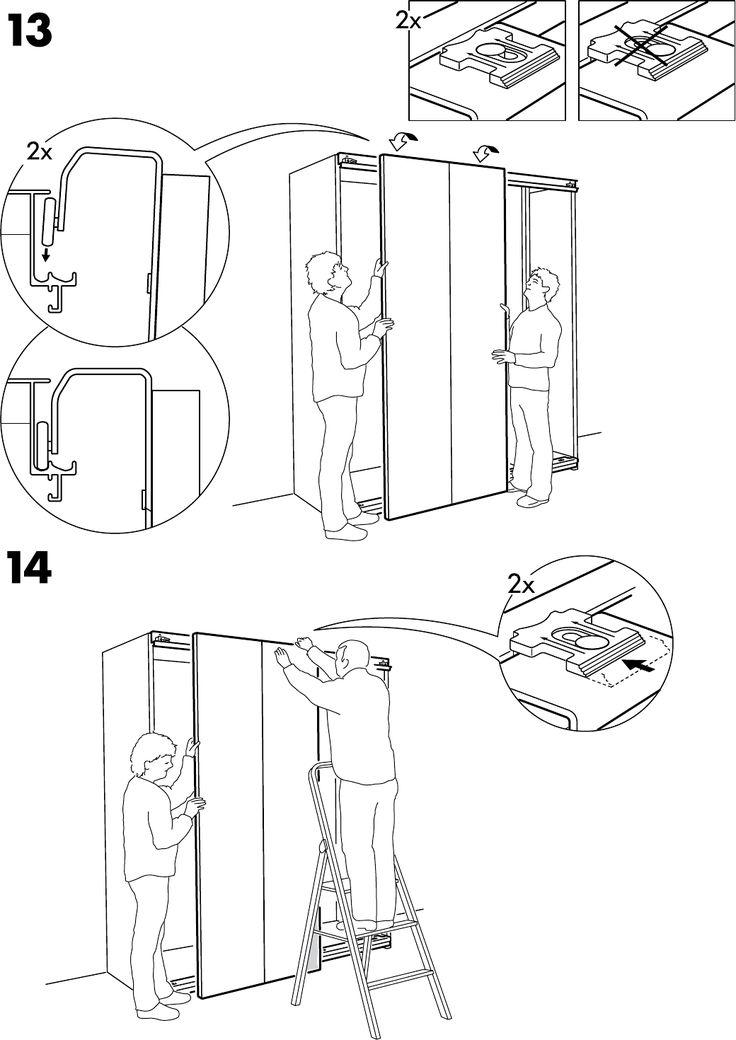 Schuifdeuren Op Maat Ikea in 2020 Schuifdeur, Ikea pax, Ikea