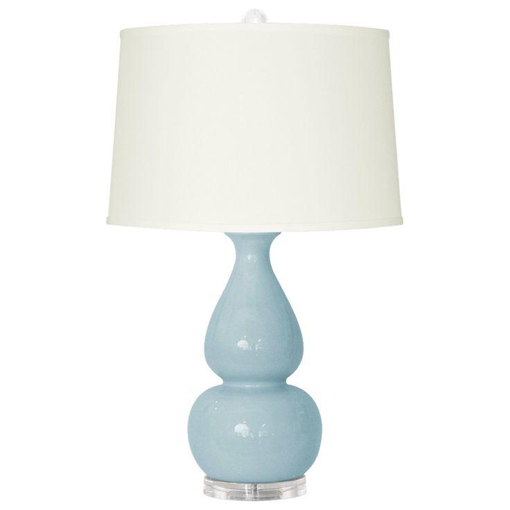 Bungalow 5 Emilia Light Blue Table Lamp Base from Layla Grayce #laylagrayce #bungalow5