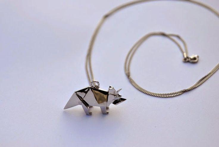 origami bijoux