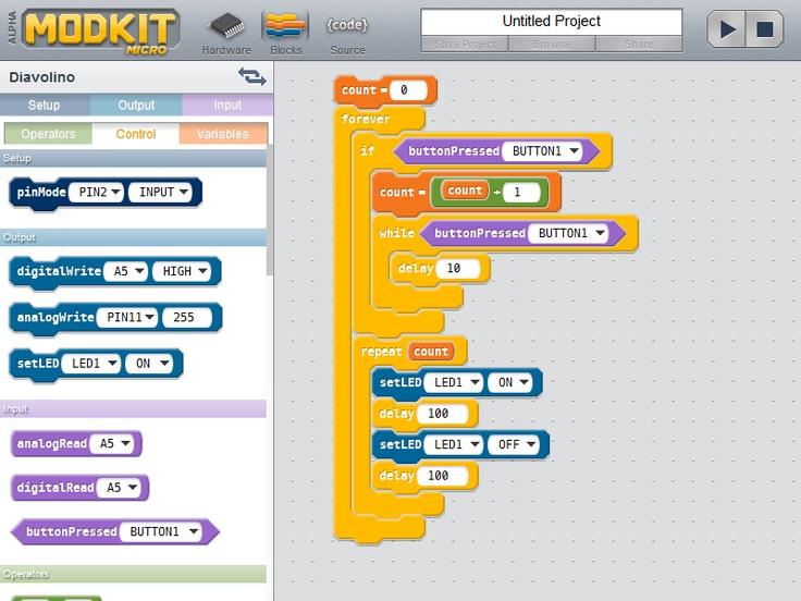 Modkit - Arduino GUI Programmer