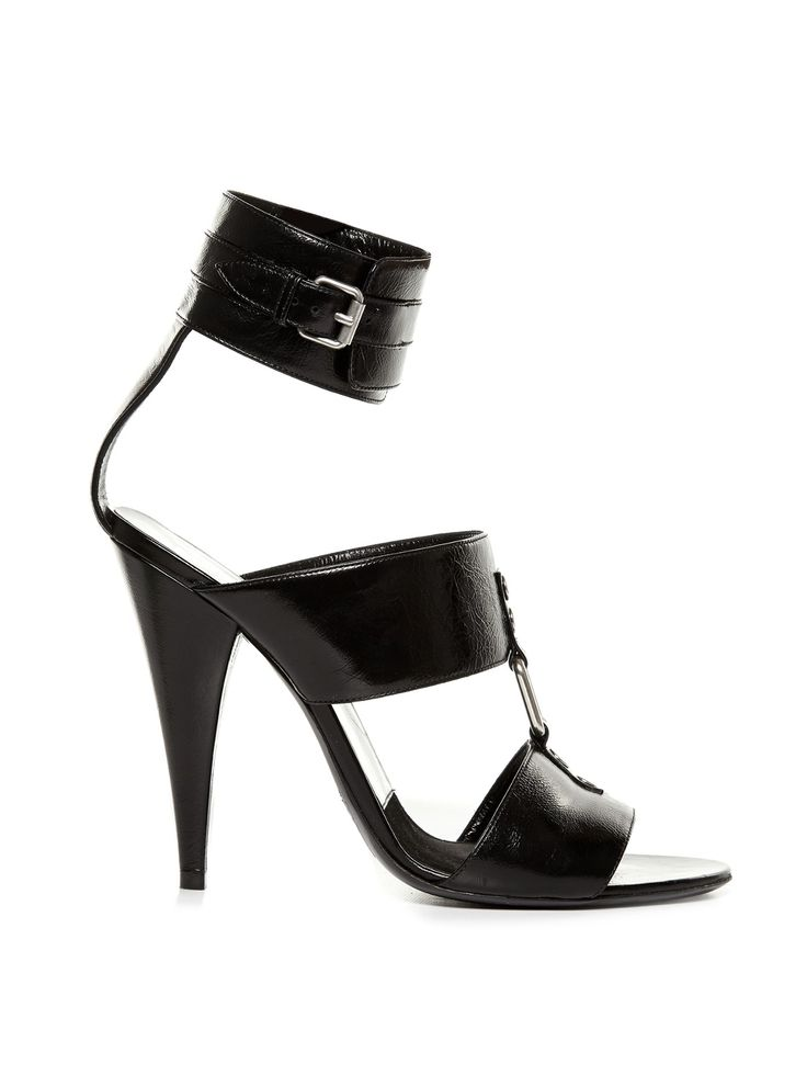 Fetish multi-strap leather sandals | Saint Laurent | MATCHESFASHION.COM UK