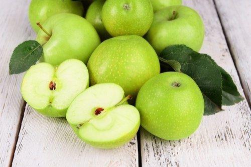 Apfel zum Abnehmen