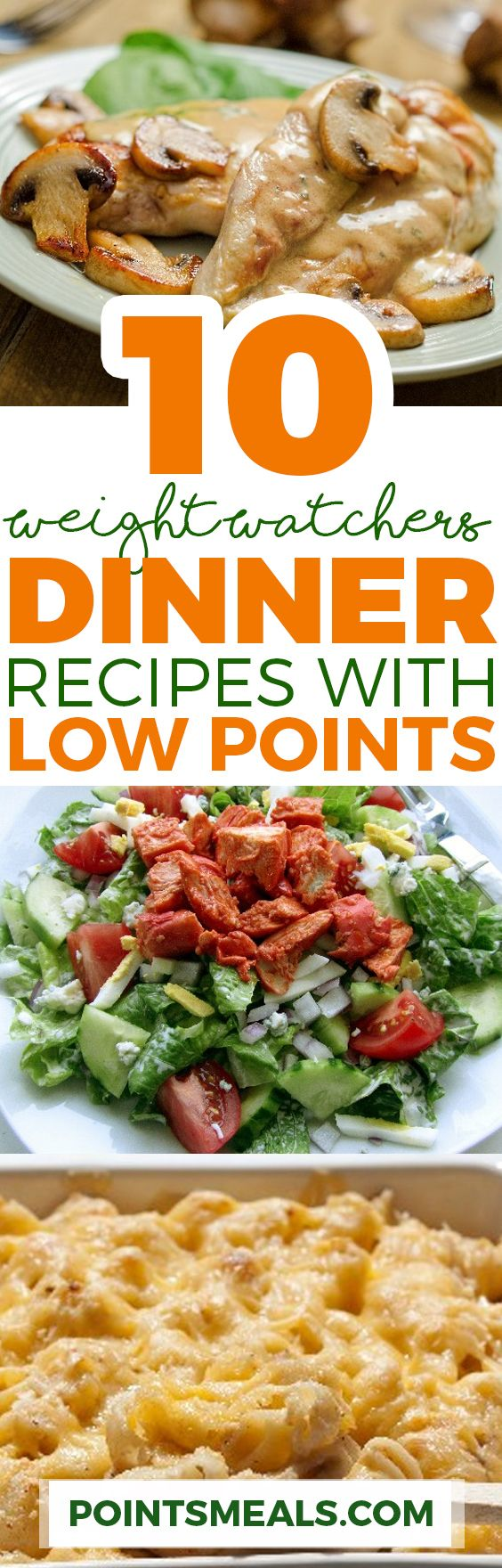 TOP 10 DELICIOUS WEIGHT WATCHERS DINNERS WITH LOW POINTS (WEIGHT WATCHERS RECIPES)