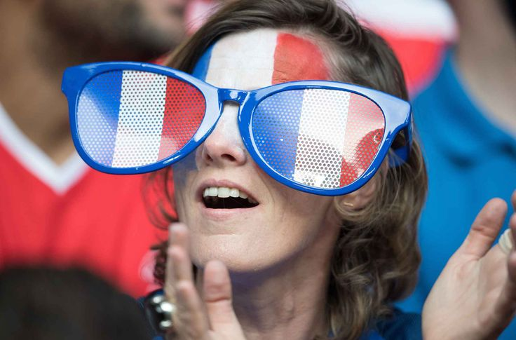 Fan of France attends the Euro 2016 Group A soccer match between France and Switzerland at stadium Pierre Mauroy in Lille, FRANCE- 19/06/2016   //NIVIERE_0021NIV/Credit:NIVIERE/SIPA/1606200554