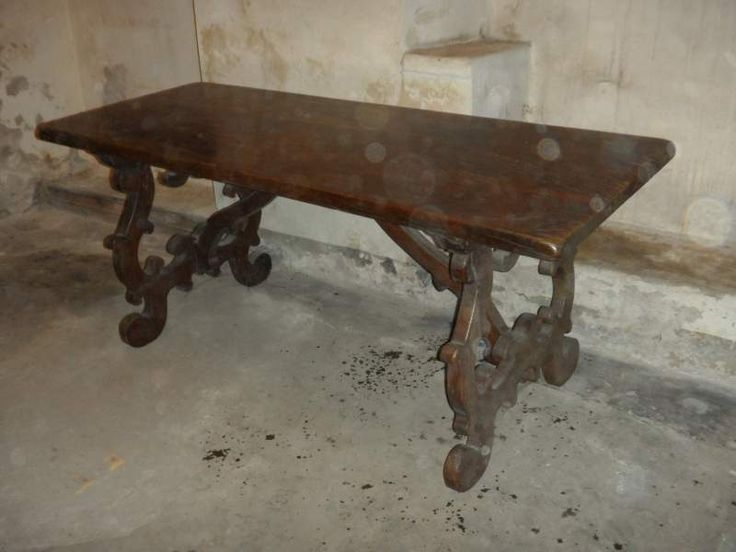Tavolo Fratino in stile Reproduction Refectory table