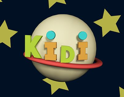 "Check out new work on my @Behance portfolio: ""Kidi TV 3D logo"" http://be.net/gallery/59414407/Kidi-TV-3D-logo"
