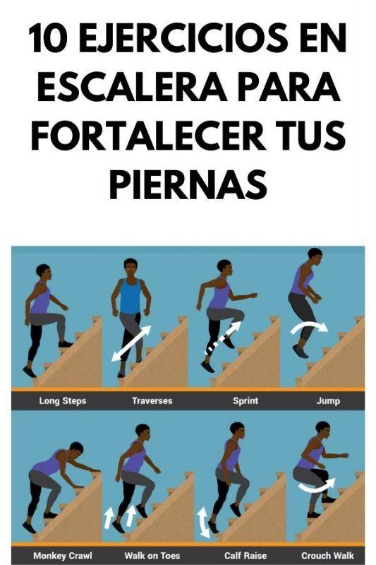 Si buscas ejercicios desafiantes, no dejes de probar estos 10 ejercicios para realizar en escaleras Health And Beauty, Health And Wellness, Health Fitness, Sports Office, Fitness Tips, Fitness Motivation, Runner Tips, Workout Guide, Tai Chi
