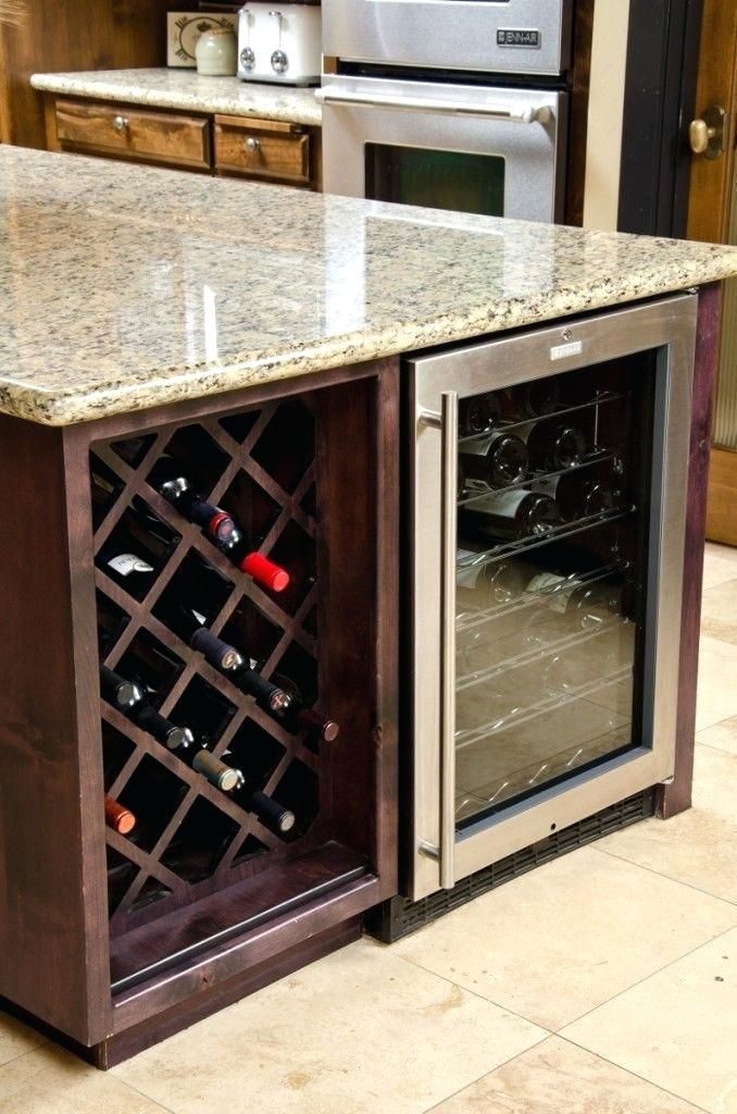 Built In Wine Racks For Kitchen Cabinets Modern Ideas For Wine Storage In Your Kitchen And Dining Room Kitchen Wine Rack Built In Wine Rack Wine Rack Storage