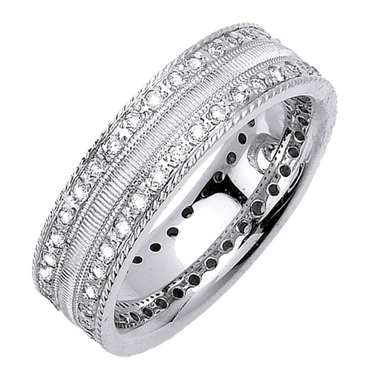 manufacturing the finest in quality wholesale diamond anniversary bands diamond wedding rings mens diamond rings and womens anniversary rings - Wedding Rings For Him