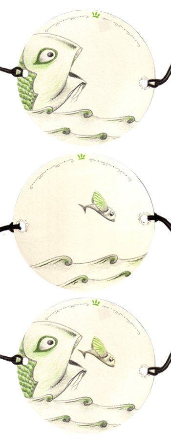 Thaumatrope jouet optique papier illustration par DayOfDecember