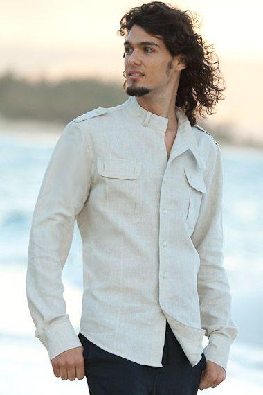 linen safari shirt...sweet!