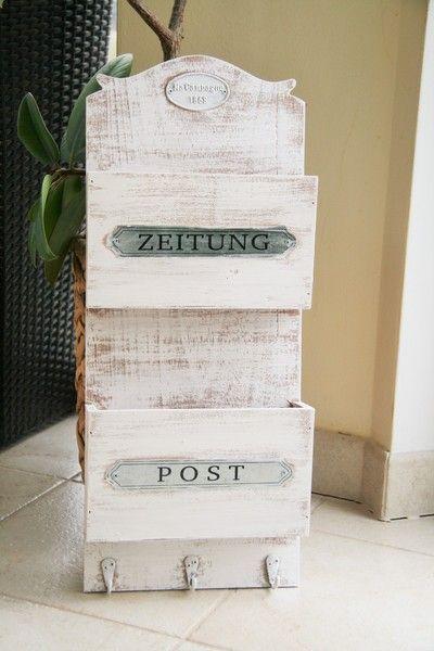 Briefhalter, Bríefständer,Ablage,Briefbox,Kiste von Eure Schaetze auf DaWanda.com