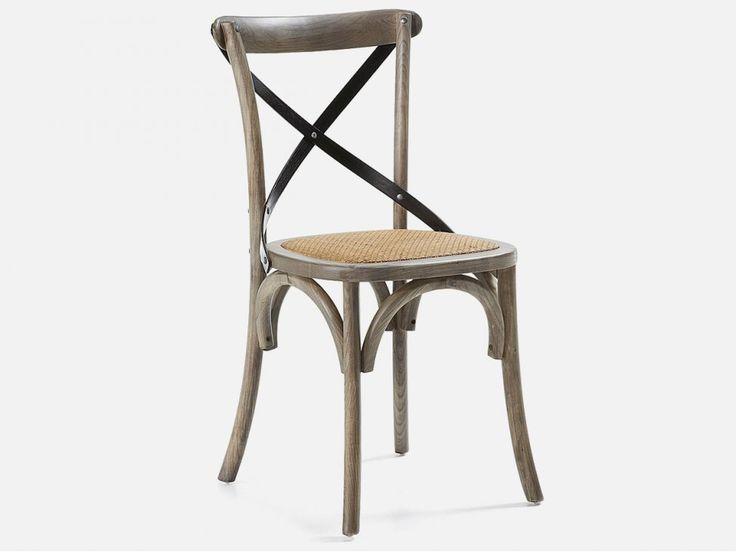 Krzesło Silea brązowe — Krzesła LaForma — sfmeble.pl