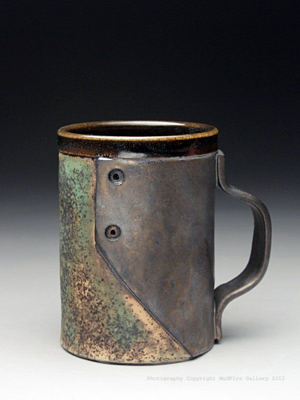 Andrew Massey industrial, steampunk pottery