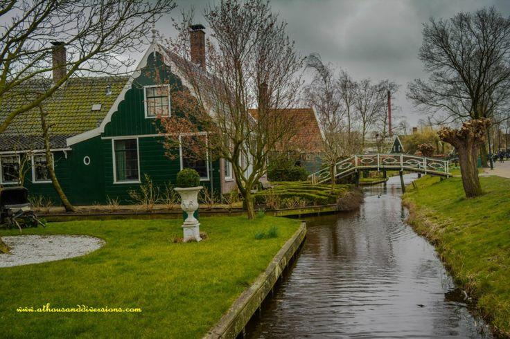 #ZaanseSchans #houses #Netherlands