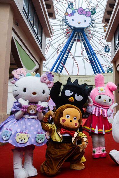 Die japanische Firma Sanrio möchte mit dem Park in Anji verstärkt den chinesischen Markt für ihre Produkte begeistern