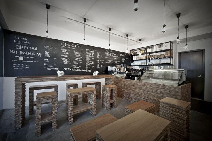 coffee shop design: Interior Design, Coffee Shops, Cafe Interiors Design, Cafes, Kith Cafe, Interiordesign, Cafe Design, Cafe K-Cup, Chalkboards Wall