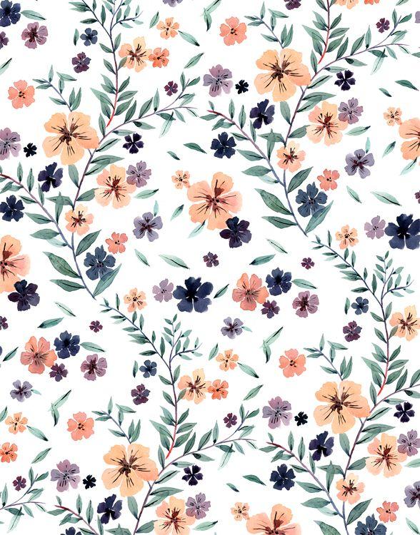 Floral pattern Romantic and floral bed. More on my blog: http://kokopelia.pl/romantyczna-sypialnia-posciele/
