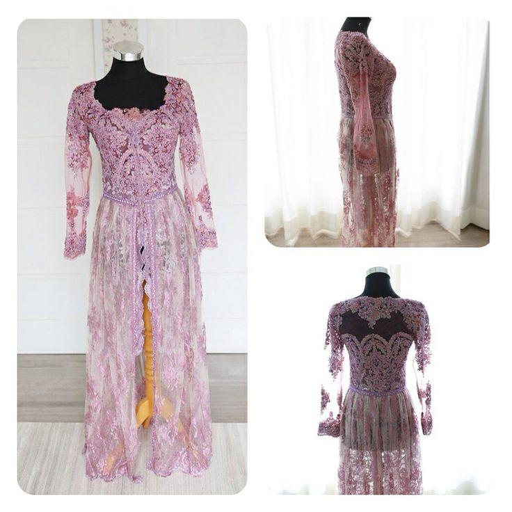 Purple kebaya |kebaya ungu | kebaya pengantin | kebaya