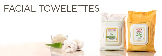 Facial Towelettes, the GIRL and love this, much better than the Neutrogena wipes we used to swear by!