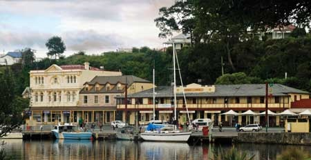 Strahan Village - Strahan on the West Coast of Tasmania takes about 8-9 hours drive from Hobart.