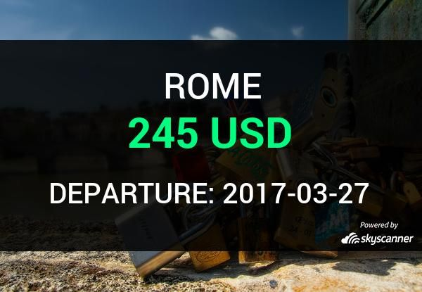 Flight from Orlando to Rome by Norwegian #travel #ticket #flight #deals   BOOK NOW >>>