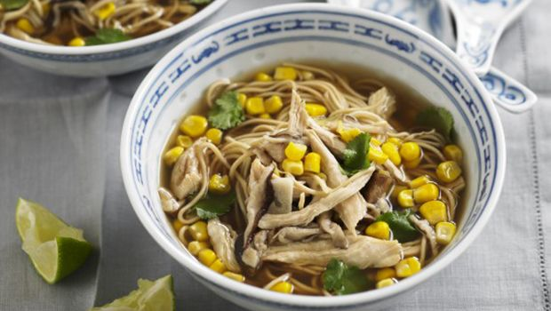 Chicken And Sweetcorn Noodle Soup Recipe - Life | Recipes - Coast FM - Love the Music