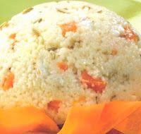 ⇒ Le nostre Bimby Ricette: Bimby, Mattonella di Cous Cous con Tartare di Branzino