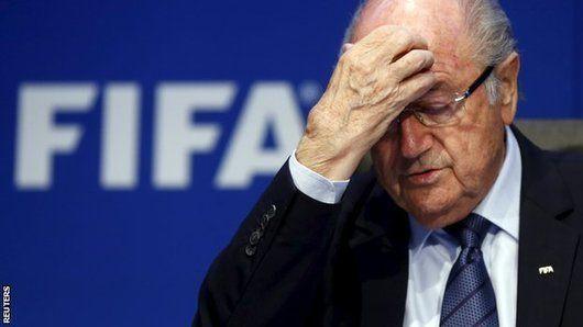 Fifa suspends Blatter, Platini & Valcke