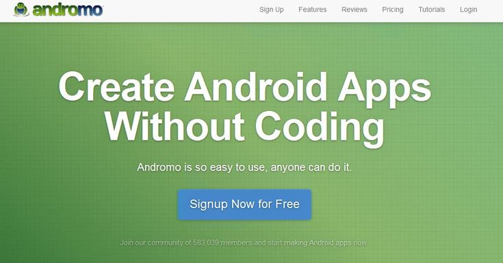 Android app development has never been easier. Create your own app for free using Andromo Android app maker. Learn how to make an app without coding. Create Android apps today with this easy mobile app builder. No Android development tools needed! #togetmoreinformation http://www.andromo.com