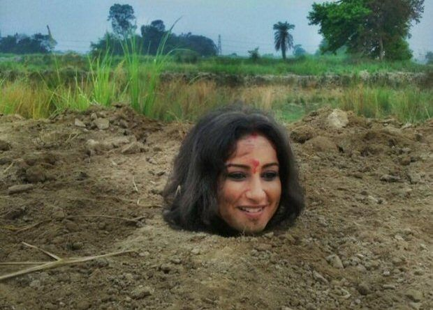 bollywoodmirchitadka: Divya Dutta Buried Herself Neck Deep In Mud for 3 ...